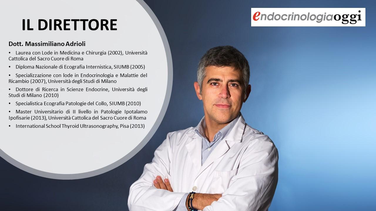 Dott. Andrioli, endocrinologo, Direttore EndocrinologiaOggi a Roma